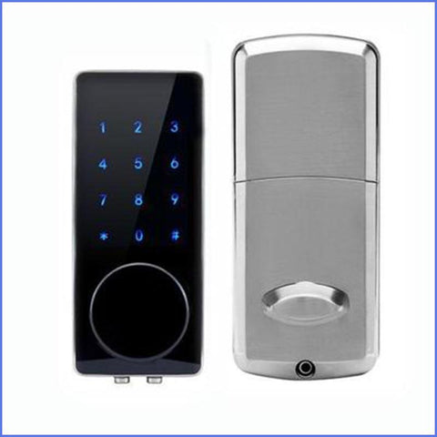 Image of Digital Smart Entry Lock With Electronic Door Passcode For Keyless Entry