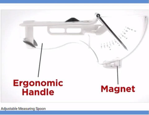 Image of Best FREE 7-in-1 EZ Measuring Spoon Does It All For You Perfectly! Easy-Fast-Precise.