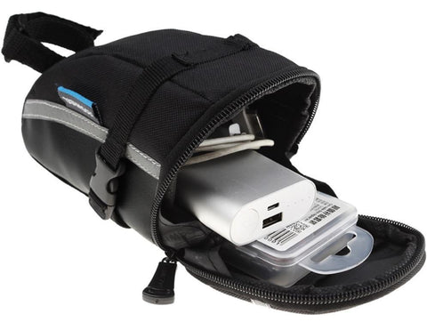 Image of TAIL POUCH ADDS CONVENIENT STORAGE SPACE TO YOUR BIKE - BEST QUALITY