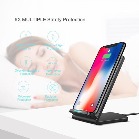 Image of Super Fast Wireless Charging Stand for Your Samsung S9 S8 Note 9 8 ...Order Yours NOW And You Get FREE Shipping!