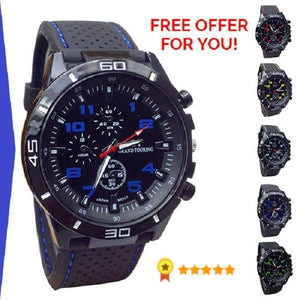 Click ADD To CART Now And You Get Our Most Popular TACTICAL/SPORTS Watch FREE Today! All You Pay Is Standard Shipping and We'll Add This To Your Order Now 100% FREE! Click ADD To CART Now!