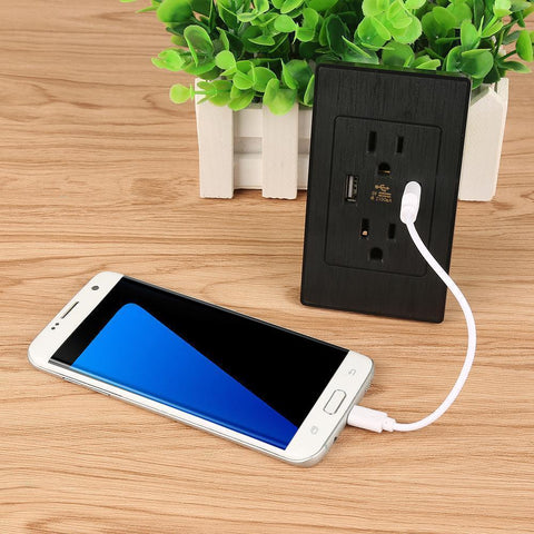 Image of USB + Wall Socket Gives You The Ease And Functionality You Want