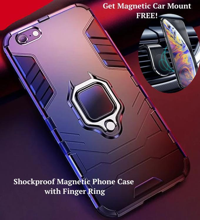 The Ultimate Protective Phone Case for SAMSUNG & iPhone + You Get A FREE Deluxe Magnetic Car Mount & You Get FREE Shipping Too! 🚛  SAVE!