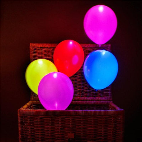 Image of Cool New LED Balloon Set Perfect For Parties And Celebrations