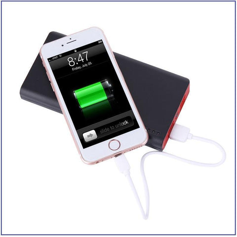 20000mAh 4 USB External Power Bank With FOUR USB Ports For ALL Mobile Devices ++ You Get FREE Shipping Too!  🚛