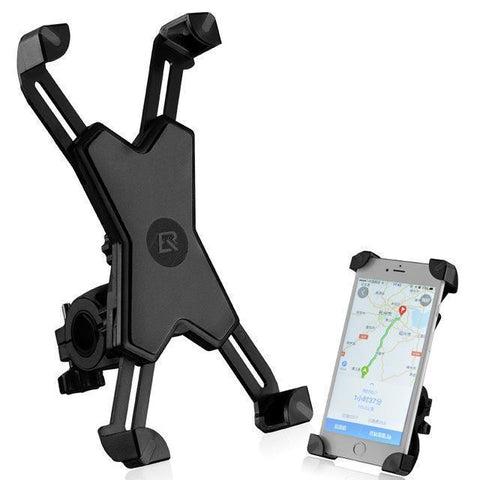"Image of Pro Cellphone Mount For Mountain & Road Bikes, Universal FITS ALL 3.5"" to 7"" phones, iPhone X, 8, 7, 6 Samsung 9, 8, 7, 6, Galaxy"