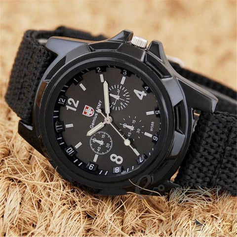 Image of You Get This Rugged Military Quartz Watch FREE Today! Get Yours Now While They Last!
