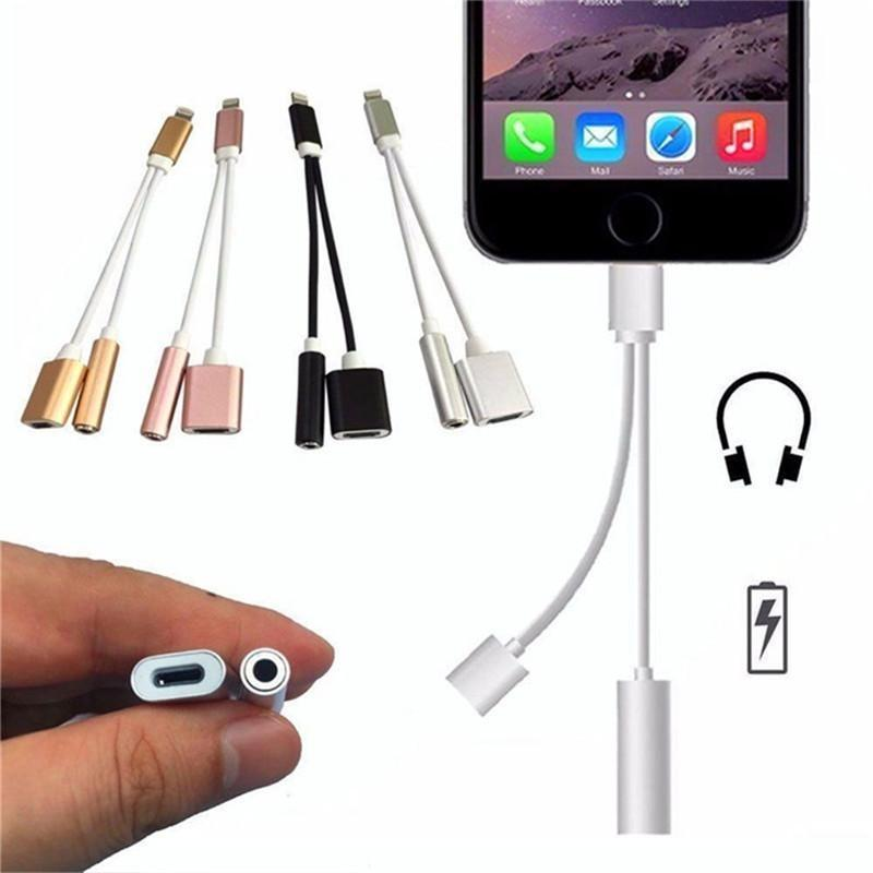 BEST Rated 2-in-1 Splitter For iPhone So You Can Listen To Music & Charge At The Same Time From Anywhere!