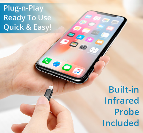 Image of Turns Your iPhone X or iPhone 8 Into A UNIVERSAL SMART REMOTE!  Control All Devices With Your Phone... Quick & Easy!