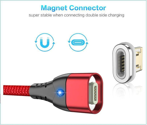 Image of Amazing NEW Magnetic Charging Cable Is Easy To Use, Fast Charging and Indestructible!