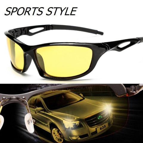 NightSight ULTRA HD Special Polarized High Definition And Anti-glare Night Driving Glasses Gives You Clarity, True Color And Enhanced Visibility