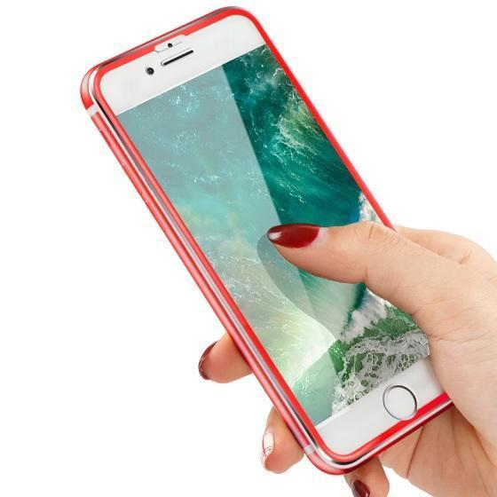 TOP Quality Tempered Glass With 3D Curved Edge Cover Fits Perfect & Protects Your Phone On EVERY Surface!