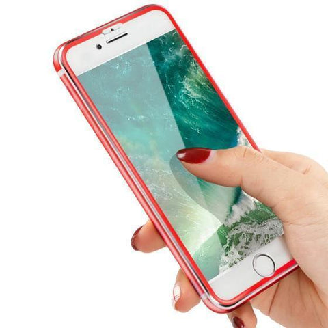 Image of TOP Quality Tempered Glass With 3D Curved Edge Cover Fits Perfect & Protects Your Phone On EVERY Surface!