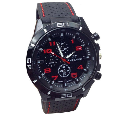 You Get This Amazing Tactical/Sports Quartz Watch FREE Today! Select From FIVE Colors And Get Yours Now!