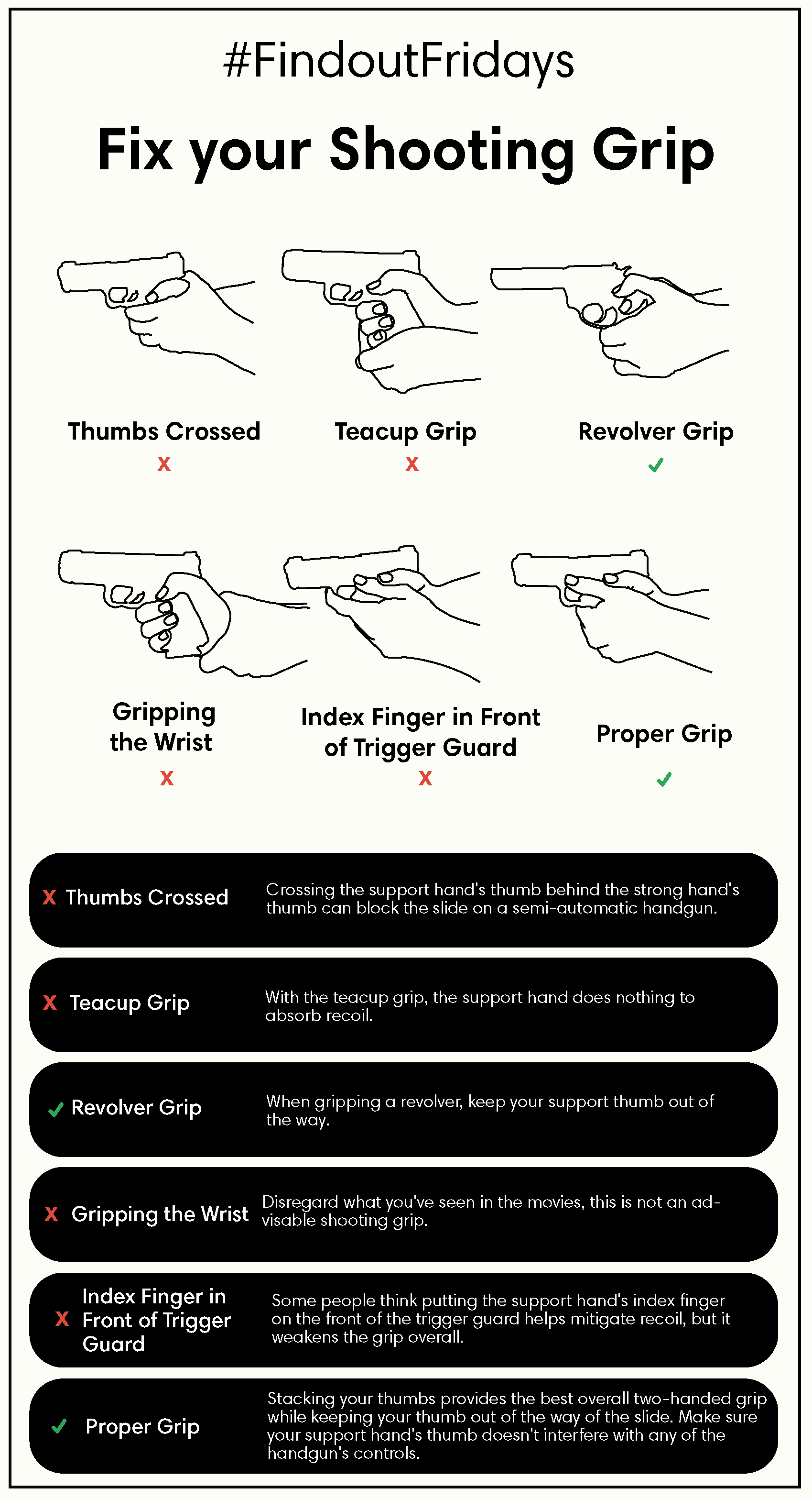Shooting Grip Graphic