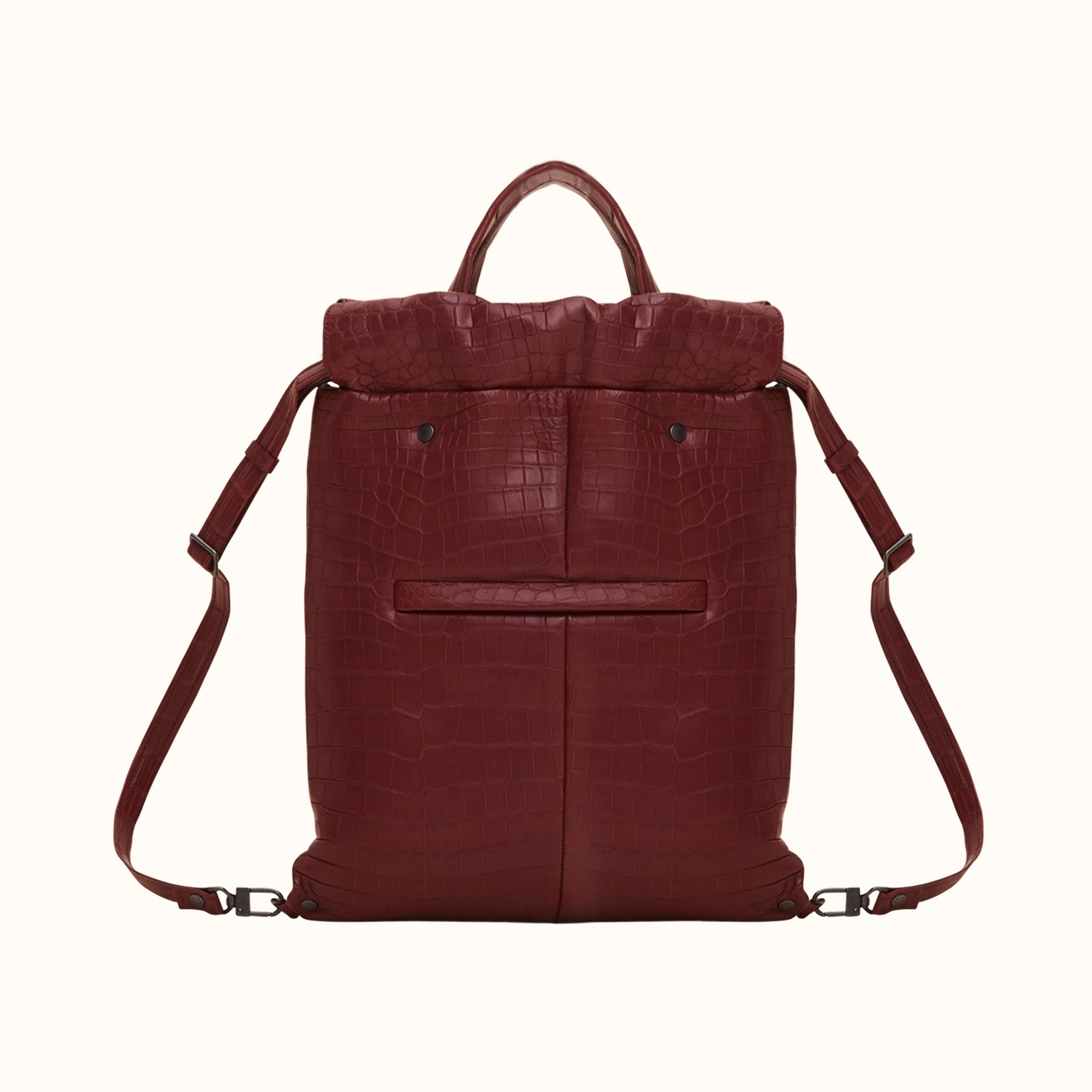 Drawstring Tote [Bordeaux]