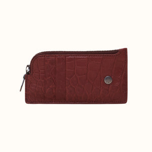 Card and Coin Case [Bordeaux]