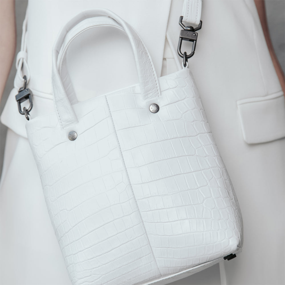Mini Tote [White]