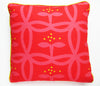 Appelbloom Big Red and Black- pillowcase 48x48