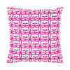 Appelbloom small in Cerise, orange and pink - pillowcase 48x48