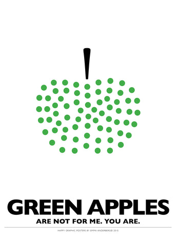 05. Poster - Green Apples...