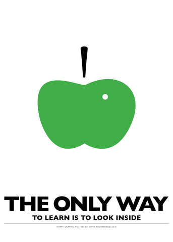 06. Poster - The only way to learn...