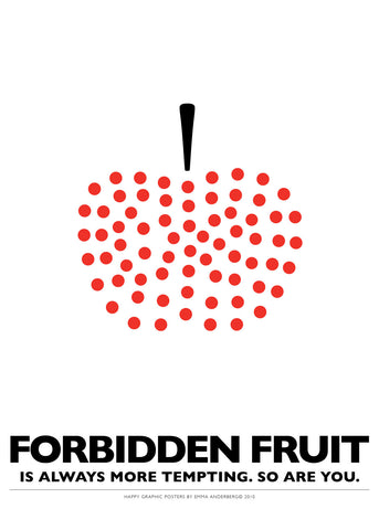 07. Poster - Forbidden fruit...