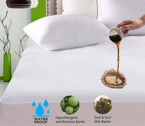 Image of Comfort Star Waterproof Mattress Protection Cover