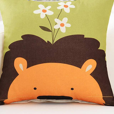Image of Cutie Animals Cushion Pillow Covers