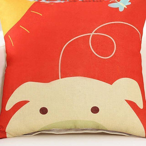 Cutie Animals Cushion Pillow Covers