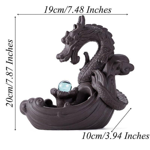 Image of Dragon Incense Flower
