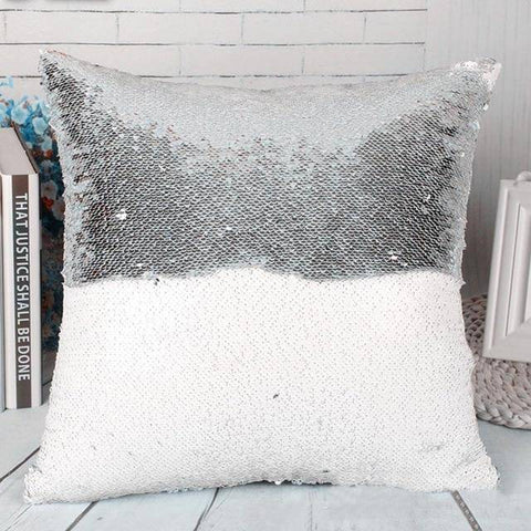 Dual Colored Reversible Cushion Pillow Cover