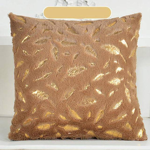 Feather Plush Cushion Pillow Covers
