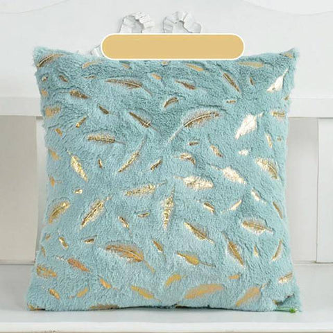 Image of Feather Plush Cushion Pillow Covers