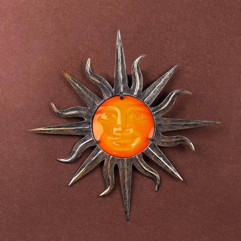 Image of Happy Sun Hanging Statue