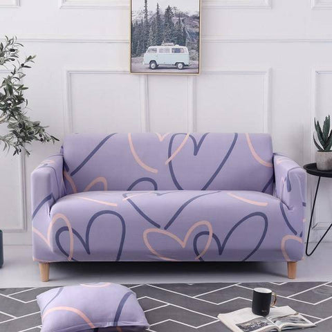 Magix Couch Protection Cover Patterned Styles (Suitable for 1 to 4 seats couches, Love Seats & L-Shape couches)