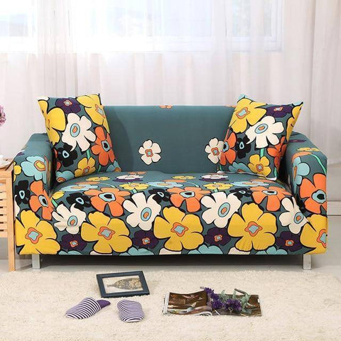 Image of Magix Couch Protection Cover Patterned Styles (Suitable for 1 to 4 seats couches, Love Seats & L-Shape couches)