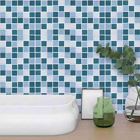 Image of Mosaic Ocean Styled Peel & Stick Tile