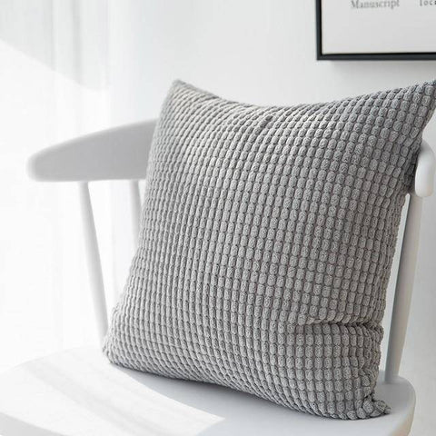 Image of Multi-Colored Mini Square Patterned Cushion Pillow Covers