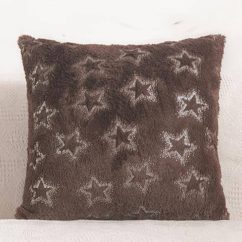 Image of Multi-Colored Starry Cushion Pillow Cover