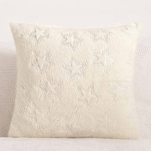 Multi-Colored Starry Cushion Pillow Cover