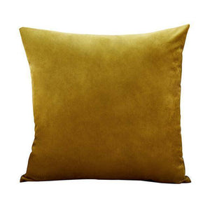 Multi-Colored Velvet Cushion Pillow Covers