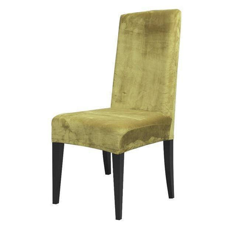 Image of Premium Velvet Chair Covers Universal Fit