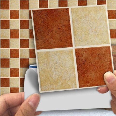 Scottish Cookie Styled Peel & Stick Tile