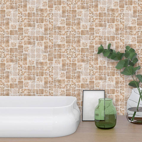 Stone Mixed Styled Peel & Stick Tile