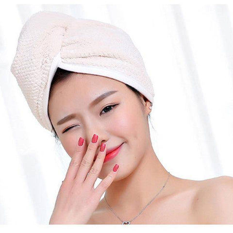 Image of Ultra Absorbent Hair Drying Towel