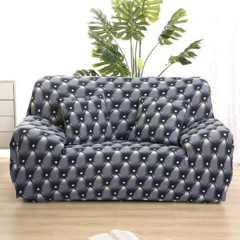 Image of Magix Protection Covers Dark Themed Pattern Styles (Sofa, Love Seat, L-shape, U-Shape, Sectionals)