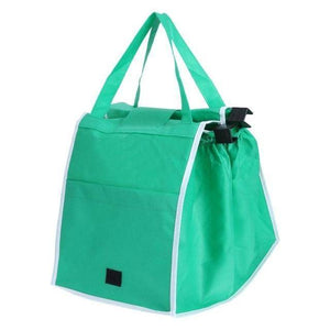 Green Giant Clip 2 Cart Reusable Shopping Bag (Set of 2)