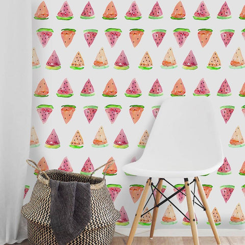 Image of Watermelon Peel & Stick Wallpaper