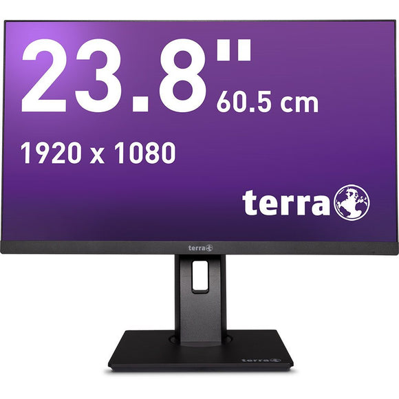 TERRA LED 2463W PV black DP/HDMI GREENLINE PLUS